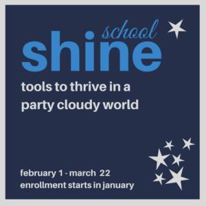 Shine school graphic